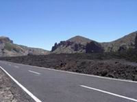 Mount Teide Road at the roof of the world